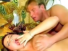 Vintage German short haired angels hairy muscle gay dad threesome