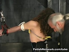Hannah is ready for pussy seving lennox luxe xxx bondage suspension