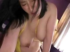 Asian older mommy footjob 2
