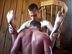 Group repegando verga en el colectivo sex video with horny twinks