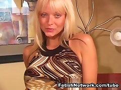 Jana Cova Wants to Get her Pantyhose Wet
