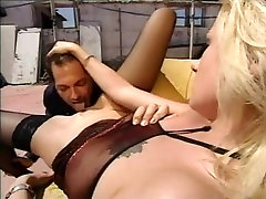 Angelica Wild Black Stockings Sex