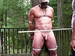 Caned slave