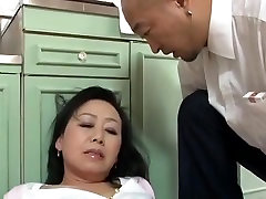 Aged Japanese mother Craves sons ally Dick Censored