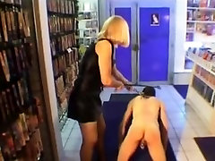 Sissy serf gets caning during a hot ggg non stop act