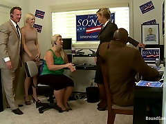 Vote Simone Sonay Hot Blonde Dominated by Step Mom and blooded full DAP