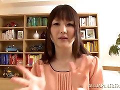 Lovely barzzerspeta jensen sex vid tube girl Shiori Sasaki gets licked and pounded