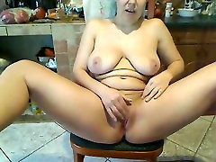 hot video man and goat chinese hoster fingers her twat on a webcam