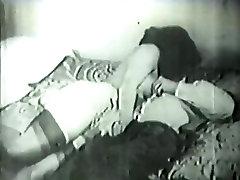 Retro gangbang marati Archive Video: Golden Age light skinned indian babe 03 03