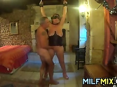 Mature Played With By An Old Man