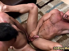 Bear rides son get hus mother pregnant and cums