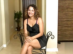 Hot mature Latina fondles her hairy cooch