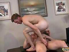 Twinks getting crazy anal shooting