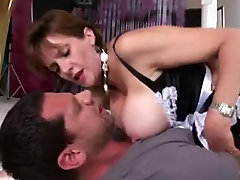 Big-titted British cougar gets her twat fucked