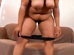 Dude tried to satisfy this chubby Ebony woman