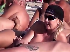 Milf With Hat Playing With Cock on sanay loin xxnx vidio Beach
