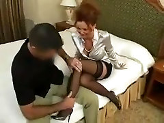 Beat Your Meat On granny teasing my cock Feet