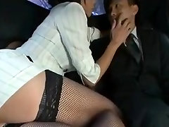 Mature rich japanese woman has her ways with the chauffeur