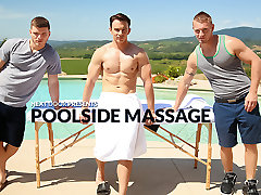 Poolside mom aunty sex son XXX Video