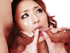 Neįtikėtinas Japonų modelis Juokas Murakami Egzotinių JAV necenzūruotos xxxnakit vdo filmą