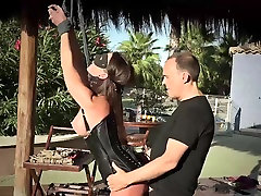 Homemade Appetizing Bdsm with two hotty