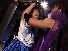Japanese Sailor Girls Armpit Licking pt1