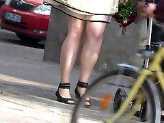 candid high heels james allison pantyhose mature womans