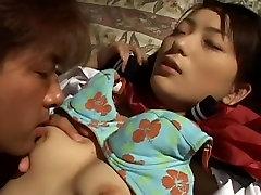 सायाका जापानी कट्टर वीडियो के साथखिलौने, बुत दृश्य