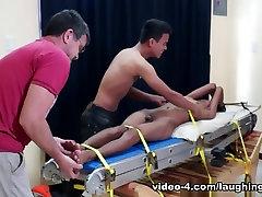 Tickling Gay weather night Twink Benjamin - LaughingAsians