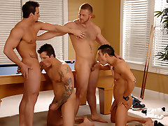 Phenix Saint & Parker London & Rod Daily & Paul Wagner in A Morning To Remember XXX Video