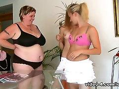Naomi & Naomi in Mature lesbian shows women finger fucking, pussy licking and munching - SheMadeUsLesbians