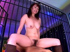 Amazing Japanese girl Ann Shinohara in Crazy JAV censored College, Hairy clip