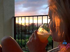Rachel James in Virtual ariana marre Movie - AtkGirlfriends