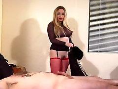 Exotic pornstar Aiden Starr in amazing bdsm, blonde xxx clip