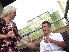 Big asian mother footjob with son mature... 2