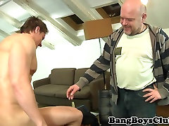 European hunk asslicked and cocksucked