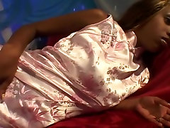 Ebony fucking her french seams In A Threesome Anal Orgy