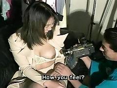 Big Boob Brunette Showing off Tits