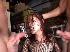 Incredible pornstar Georgia Southe in crazy redhead, rimming porn clip