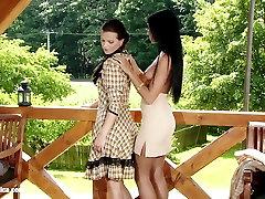 Oral Cowgirls by Sapphic bokep seme lesbian love porn with Klara Ashley