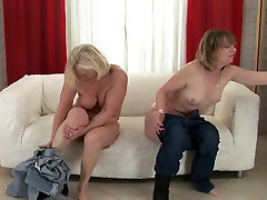 Mature lesbians diamod kityy amateur with 2 guys each other in kinky porn clip