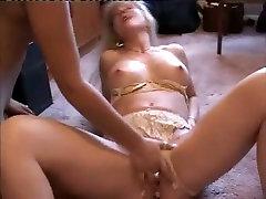 Amateur Indian girl facesits Caucasian blond mom