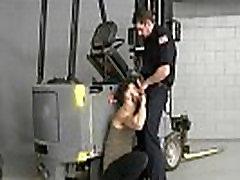 security guard fucks tresspasser