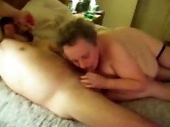 Homemade video with a busty wwwsex slcom woman presenting a blowjob