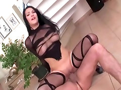 Glamour playgirl fucking in haunch high nylon and heels