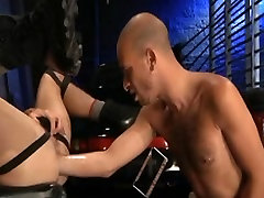 Hooded sweet gass submissive gets fucked good