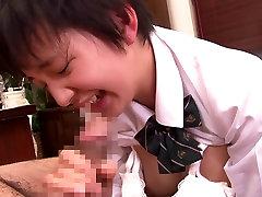 Karstākie Japāņu meitene Sakura Aīda Pārsteidzošs izdilis, koledžas JAV klipu