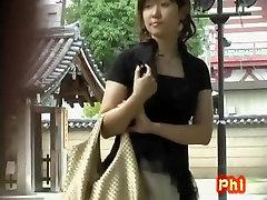 Hot Asian waiting for her maserati eva notty got no panties sharked