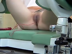Teen bitch from Japan made her gynecologist very horny