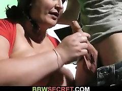 His wife caught plump coisa grande cheater